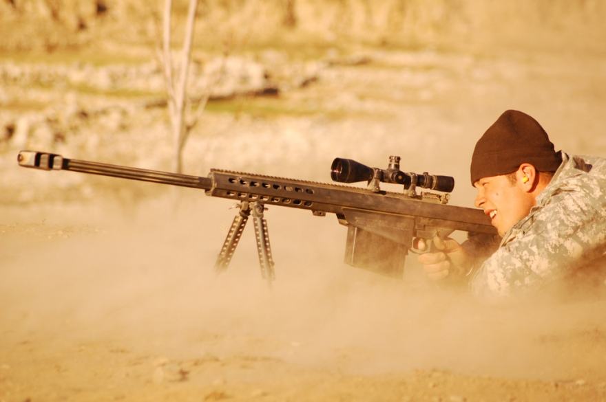 Sniper in Middle East