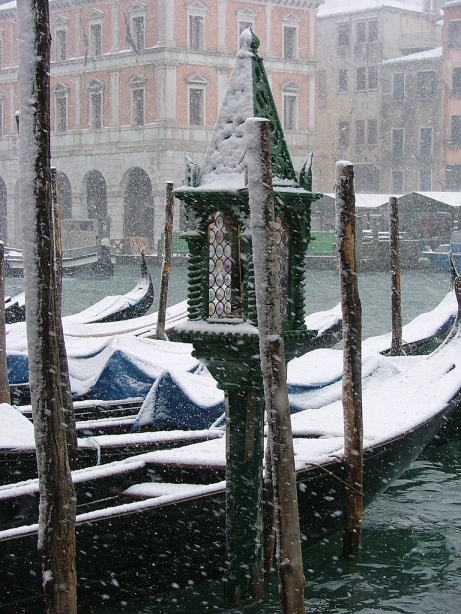 Winter by Venice Canals