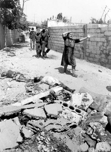 Slaughter at Palestinian Refugee Camp